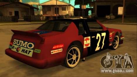 Beta Hotring Racer for GTA San Andreas inner view