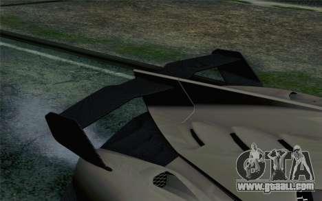 NFS Rivals Lamborghini Veneno for GTA San Andreas back view