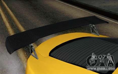 GTA 5 Dewbauchee Exemplar for GTA San Andreas right view