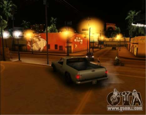ENB Gentile v2.0 for GTA San Andreas fifth screenshot