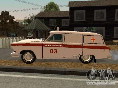 GAS 22 ambulance for GTA San Andreas left view