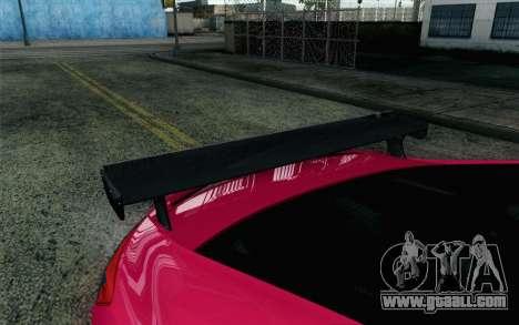 Honda Civic SI 2013 for GTA San Andreas back view