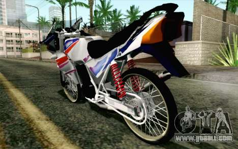 Yamaha RZR 135 Drag for GTA San Andreas left view