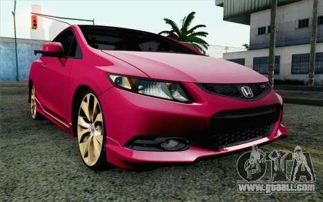 Honda Civic SI 2013 for GTA San Andreas