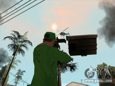 CORD from Battlefield 3 for GTA San Andreas sixth screenshot