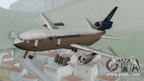 DC-10-30 Garuda Indonesia for GTA San Andreas