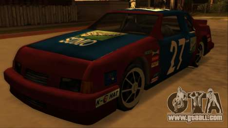 Beta Hotring Racer for GTA San Andreas back view