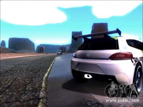Volkswagen Scirocco Tunable for GTA San Andreas left view