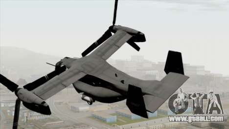 MV-22 Osprey USAF for GTA San Andreas left view
