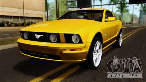 Ford Mustang GT Wheels 1 for GTA San Andreas