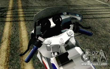 Yamaha RZR 135 Drag for GTA San Andreas back view