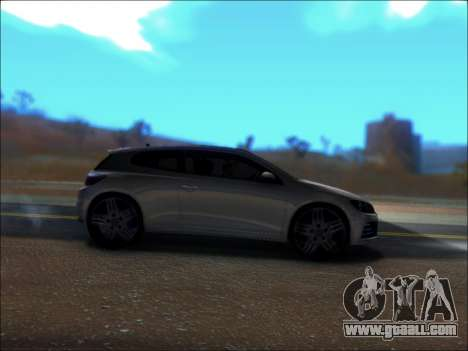 Volkswagen Scirocco Tunable for GTA San Andreas back view
