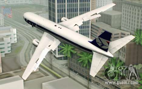 Boeing 767-300 PLL LOT for GTA San Andreas left view