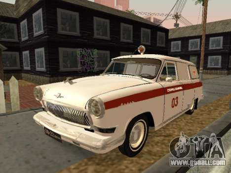 GAS 22 ambulance for GTA San Andreas