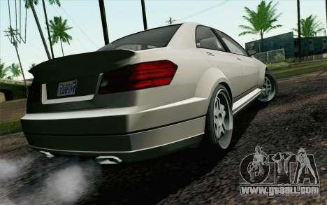 GTA 5 Benefactor Schafter IVF for GTA San Andreas