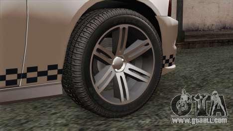 Dodge Charger SXT Premium 2014 for GTA San Andreas back left view