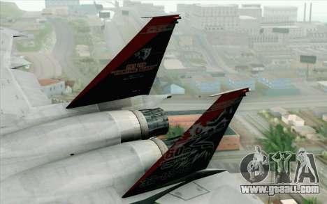 F-15J Kai 60th Anniversary of JASDF for GTA San Andreas back left view