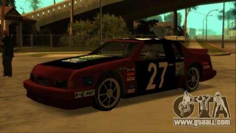 Beta Hotring Racer for GTA San Andreas interior