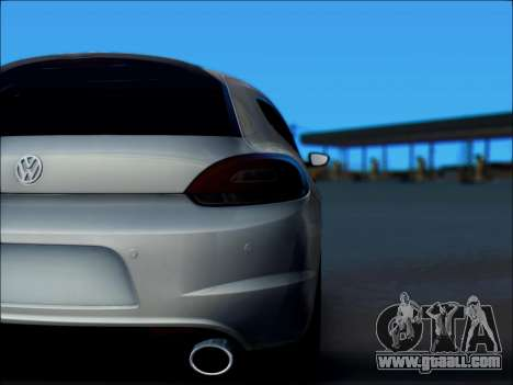 Volkswagen Scirocco Tunable for GTA San Andreas