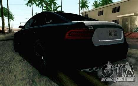 GTA 5 Karin Kuruma v2 SA Mobile for GTA San Andreas left view