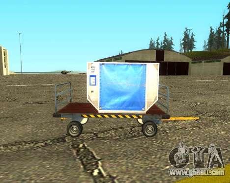 New Bagbox B for GTA San Andreas
