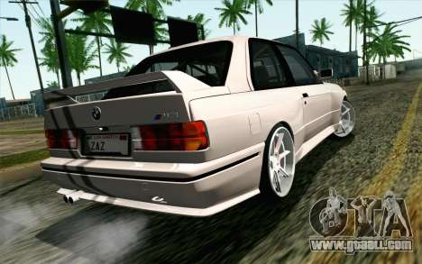 BMW M3 E30 2015 for GTA San Andreas left view