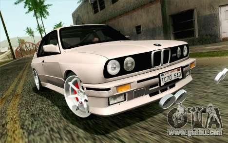 BMW M3 E30 2015 for GTA San Andreas