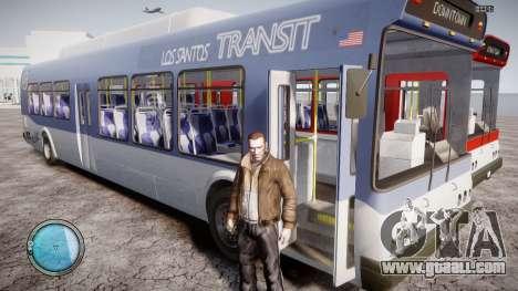 GTA 5 Bus v2 for GTA 4 side view