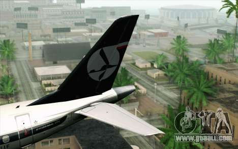 Embraer EMB-175 LOT Polish Airlines for GTA San Andreas back left view
