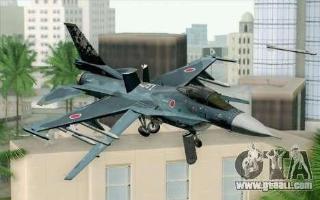 F-2A Viper 60th Anniversary of JASDF for GTA San Andreas