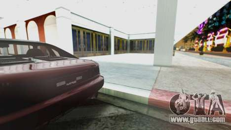 Toyota MR2 for GTA San Andreas back view