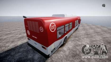 GTA 5 Bus v2 for GTA 4 right view