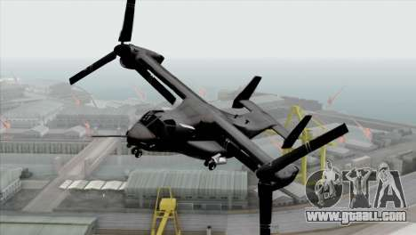 MV-22 Osprey USAF for GTA San Andreas