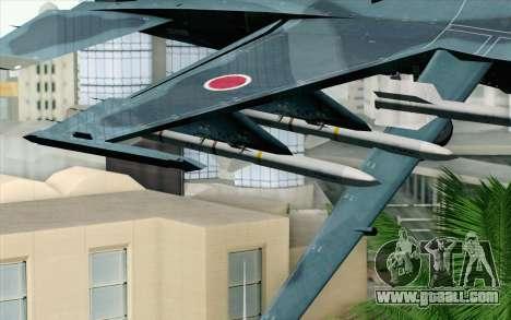 F-2A Viper 60th Anniversary of JASDF for GTA San Andreas right view