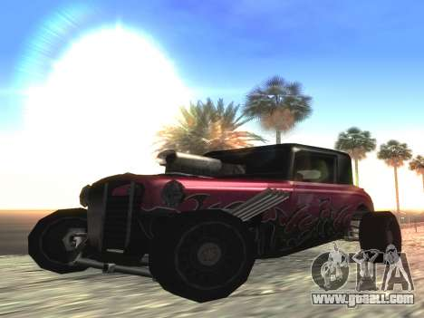 Hotknife Updated for GTA San Andreas