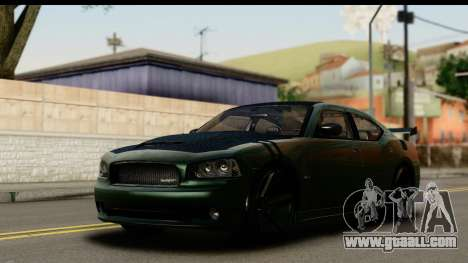 Dodge Charger SRT8 2006 Tuning for GTA San Andreas side view