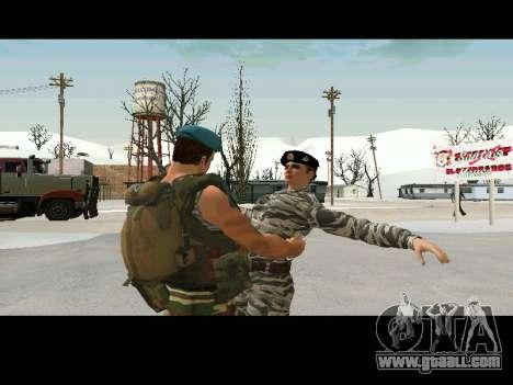 Kira Lebedev for GTA San Andreas fifth screenshot