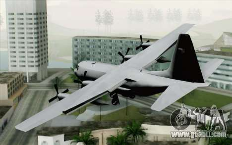 C-130H Hercules Polish Air Force for GTA San Andreas left view