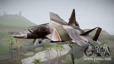 F-15 JASDF 50th Anniversary for GTA San Andreas