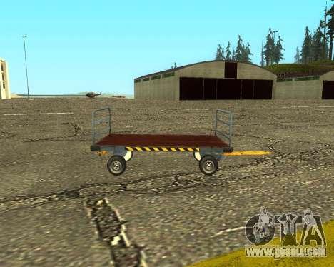 New Bagbox B for GTA San Andreas back view