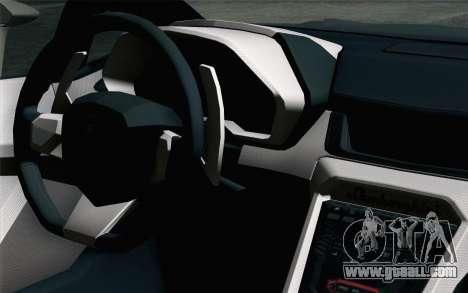 NFS Rivals Lamborghini Veneno for GTA San Andreas right view