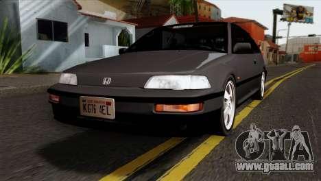 Honda Civic EF Hatchback for GTA San Andreas