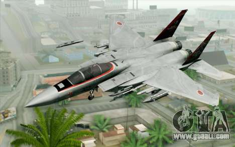 F-15J Kai 60th Anniversary of JASDF for GTA San Andreas