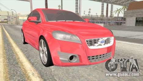 Volvo C70 2011 Stock for GTA San Andreas