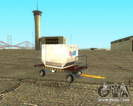 New Bagbox B for GTA San Andreas side view