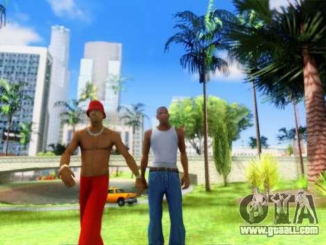 ENB Graphics Enhancement v2.0 for GTA San Andreas fifth screenshot