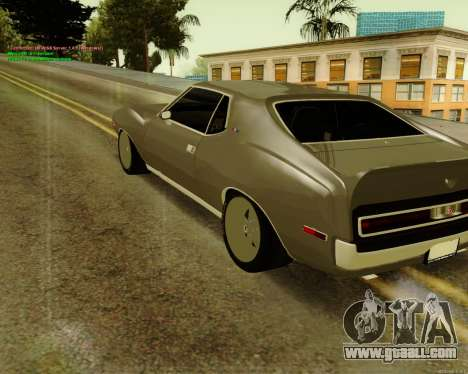 AMC AMX Brutol for GTA San Andreas