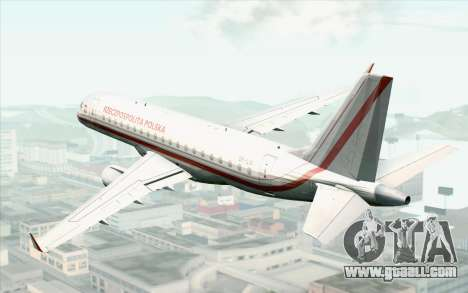 Embraer EMB-175 Republic Of Poland for GTA San Andreas left view