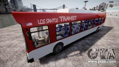 GTA 5 Bus v2 for GTA 4 bottom view