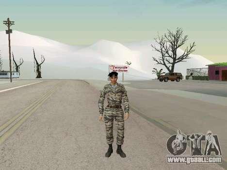 Kira Lebedev for GTA San Andreas forth screenshot